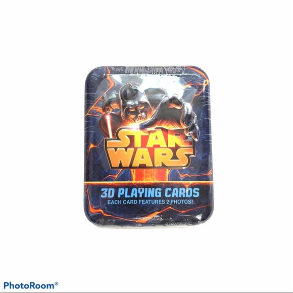 Star Wars 3D Playing Cards